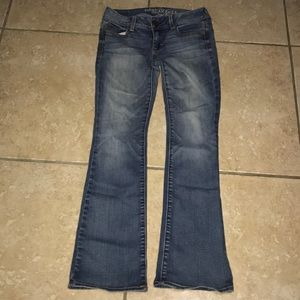 American Eagle Kick Boot Jeans Size 2